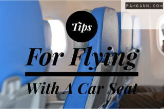 Tips For Flying With A Car Seat