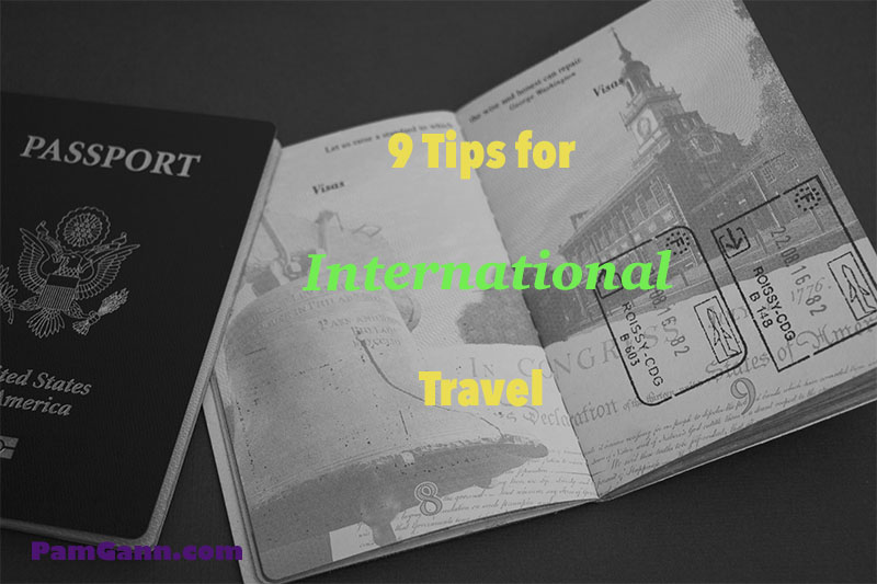 9 Tips for International Travel