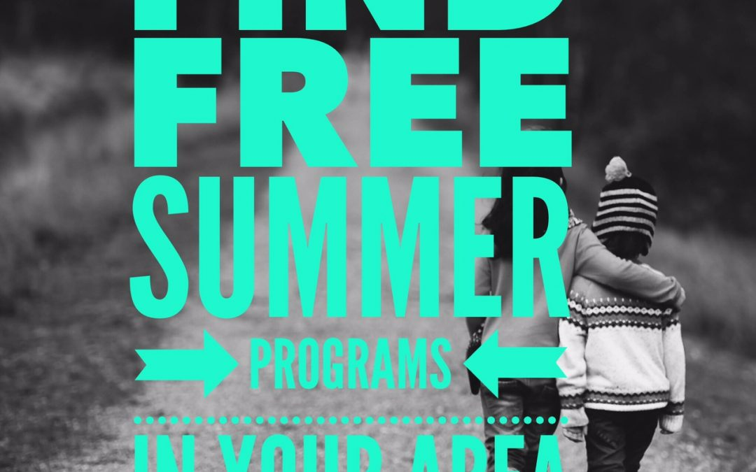 How to find free summer programs in your area