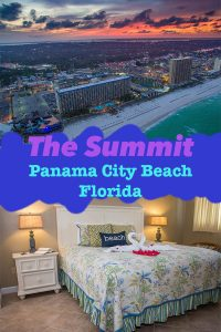 The Summit Condos in Panama City Beach Florida; our amazing stay