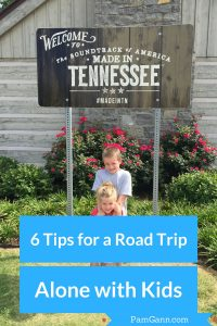 6 Tips for a Road Trip Alone with kids