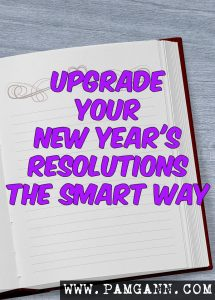 Upgrade your New Year's Resolutions the SMART way! Making SMART goals makes it easier to set and achieve goals you set.